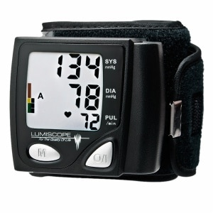 Lumiscope Automatic Wrist Blood Pressure Monitor- 1 ea