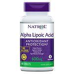 Natrol Alpha Lipoic Acid TR, Time Release, 600mg, Tablets- 45 ea