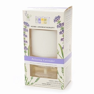 Aura Cacia Electric Aromatherapy Air Freshener, Relaxing Lavender- 1 ea