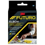 FUTURO Elbow Support with Pressure Pads, Medium Small- 1 ea