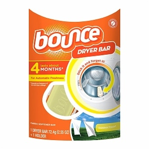 Bounce Dryer Bar Fabric Softener 4 Month Bar, Outdoor Fresh
