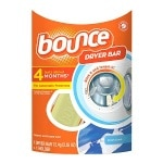 Bounce Dryer Bar Fabric Softener 4 Month Bar, Fresh Linen