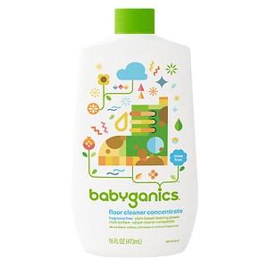 Babyganics Floor Cleaner Concentrate, Fragrance Free- 16 oz