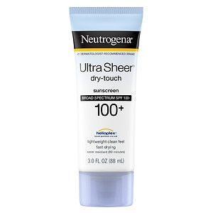 Neutrogena Ultra Sheer Dry-Touch Sunscreen, SPF 100