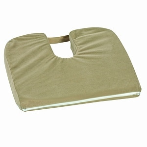 Mabis Cushion Coccyx Sloping, Camel- 1 ea