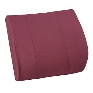 Mabis Cushion Relax-A-Bac with Strap, Burgandy