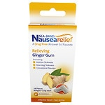Sea-Band Ginger Gum, Anti-Nausea- 24 ea