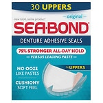 Sea-Bond Denture Adhesive Wafers, Uppers, Original