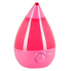 Crane USA Fashionable Drop, Ultrasonic Humidifier, Pink- 1 ea