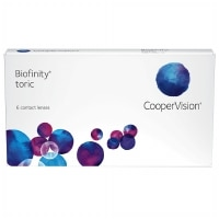 Biofinity Toric Contact Lens- 6 lenses per Box