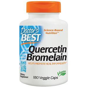 Doctor's Best Quercetin Bromelain, Veggie Caps