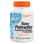 Doctor's Best Saw Palmetto Standardized Extract, 320mg, Softgels