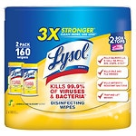 Lysol Disinfecting Wipes, Bonus Pack, Lemon & Lime Blossom