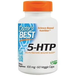 Doctor's Best 5-HTP 100mg, Veggie Caps- 60 ea