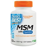 Doctor's Best MSM 1500, Tablets