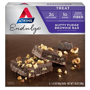 Atkins Endulge Treats, 5 pk, Nutty Fudge