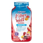 Vitafusion Fiber Well Gummies, Peach, Strawberry & Blackberry
