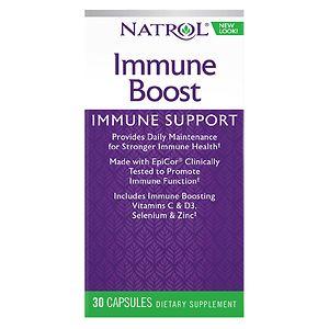 Natrol Immune Boost, All Season Defense, Fast Capsules