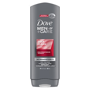 Dove Men+Care Body & Face Wash, Deep Clean- 18 fl oz