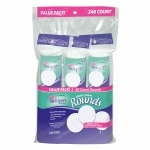 Swisspers Gentle Care Cotton Rounds, 3 packs
