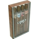 Cuba Mens Gift Set with Cuba Gold, Blue, Red and Orange 1.17oz each