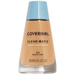 CoverGirl Clean Oil Control Liquid Makeup, Medium Light 535- 1 fl oz