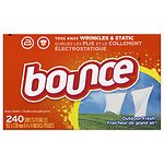 Bounce Fabric Softener Dryer Sheets, Outdoor Fresh- 240 ea