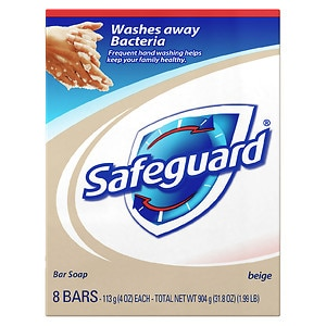 Safeguard Antibacterial Soap Bars