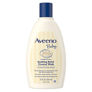Aveeno Baby Soothing Relief Creamy Wash