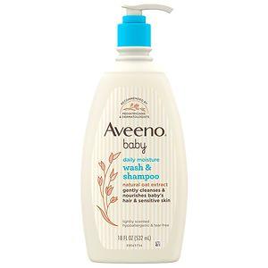 Aveeno Baby Wash & Shampoo- 18 fl oz