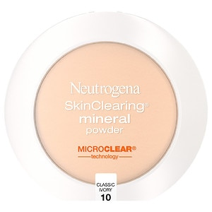 Neutrogena SkinClearing Mineral Powder, Classic Ivory 10