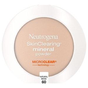 Neutrogena SkinClearing Mineral Powder, Natural Beige 60- .34 oz