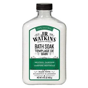 J.R. Watkins Naturals Menthol Camphor Bath Soak
