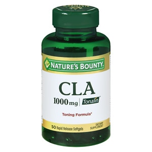 Nature's Bounty CLA 1000 mg Tonalin Softgels