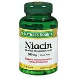 Nature's Bounty Flush Free Niacin Inositol Hexanicotinate 500 mg