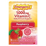 Emergen-C 1000 mg Vitamin C Travel Box, 10 pk, Raspberry- .32 oz