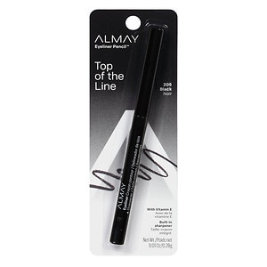 Almay Eyeliner Pencil, Black 205