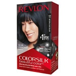 Revlon Colorsilk Beautiful Color, Natural Blue Black 12