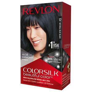 Revlon Colorsilk Beautiful Color, Natural Blue Black 12- 1 ea