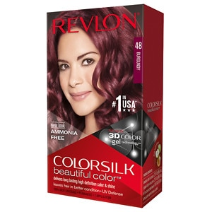 Revlon Colorsilk Beautiful Color, Burgundy 48- 1 ea