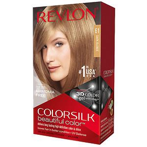 Revlon Colorsilk Beautiful Color, Dark Blonde 61