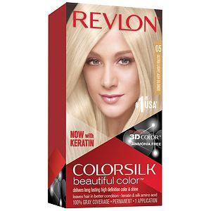 Revlon Colorsilk Beautiful Color, Ultra Light Ash Blonde 05