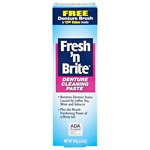 Fresh and Brite Regular Paste & Gel Denture Toothpaste