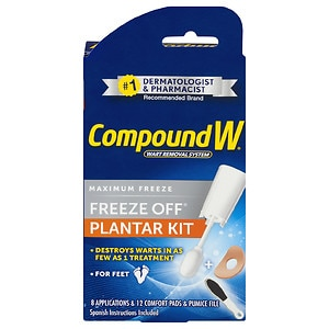 Compound W Freeze Off Plantar Wart Removal System- 8 ea