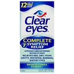 Clear eyes Complete 7 Symptom Relief Eye Drops- .5 fl oz