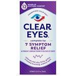 Clear eyes Complete 7 Symptom Relief Eye Drops- .5 fl oz