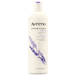 Aveeno Active Naturals Body Wash, Calming Lavender, Chamomile + Ylang Ylang