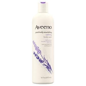 Aveeno Active Naturals Body Wash, Calming Lavender, Chamomile + Ylang Ylang- 16 fl oz
