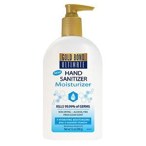 Gold Bond Ultimate Hand Sanitizing Moisturizer, Fresh Clean, 12 oz