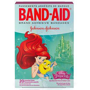 Band-Aid - Children's Adhesive Bandages, Disney Princess, Assorted Sizes